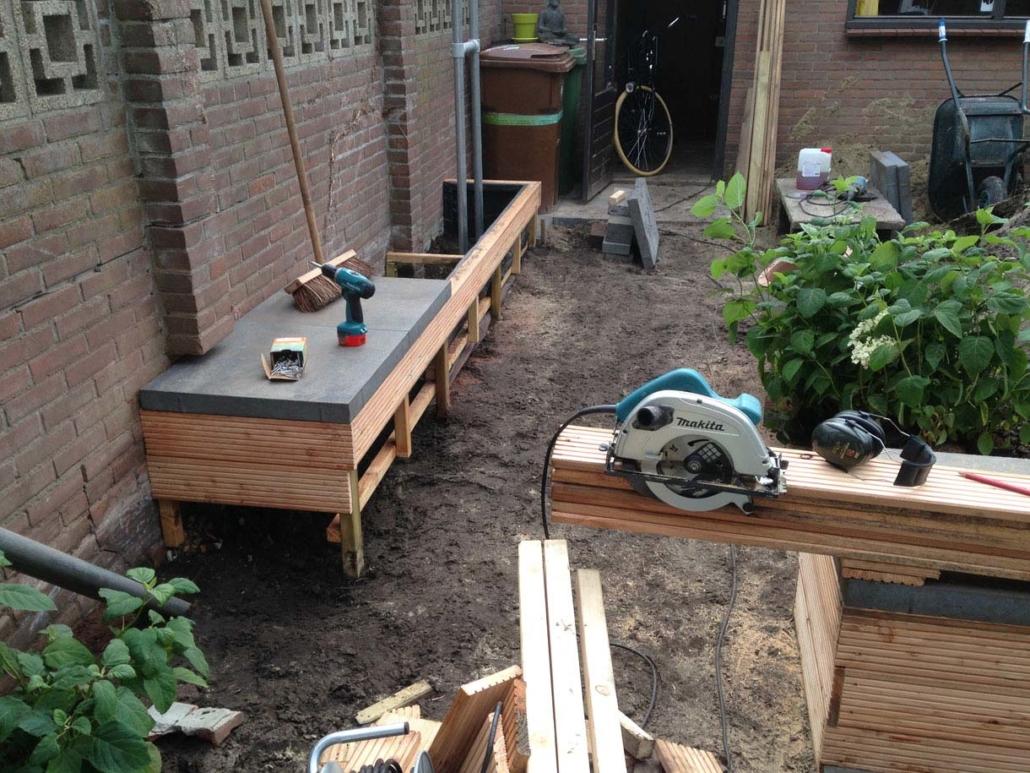 Tuin aanleg in Breda